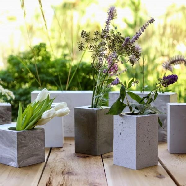 como fazer vasos de concreto destaque