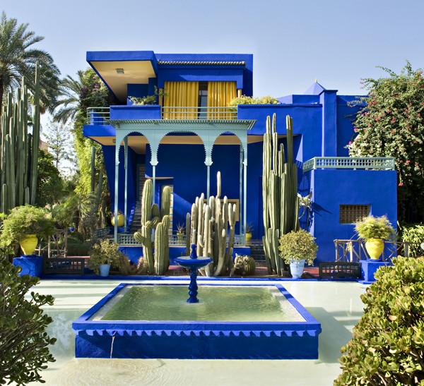 Majorelle+Garden+Yves+Saint+Laurent+Residence+-+Photo+Nicolas+Mathéus+-+Marrakesh+Morocco+-+1